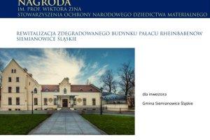 Konkurs MODERNIZACJA ROKU & BUDOWA XXIw. (nominacja i nagroda)