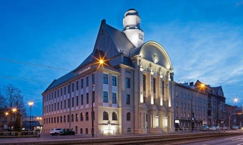 Rektorat Uniwersytetu Ekonomicznego - remont elewacji